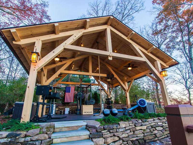 Weeklong - July 15-20, 2018 - Traditional Timber Framing with Micah ...