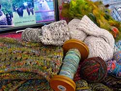 Weeklong - June 2-7, 2019 - Let's Get Wooly! Spinning on the wheel with Jeanne Brady